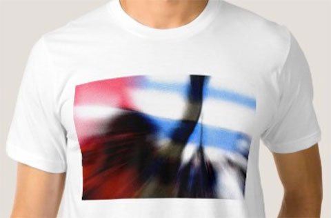 Papua Morning Star in Motion t-shirt